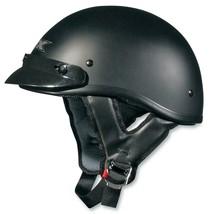 AFX FX-70 Beanie Helmet Solid Colors Flat Black Lg - $64.95