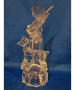 Mikasa Herald Collection Lead Crystal Angelic Harmony Figurine New- No Box - $9.90