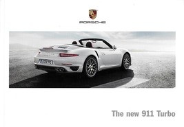 2014 Porsche 911 TURBO sales brochure catalog US 14 991 S - $20.00