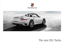 2014 Porsche 911 TURBO sales brochure catalog US 14 991 S - $15.00