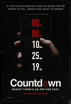 "COUNTDOWN- 27""x40"" D/S Original Movie Poster One Sheet 2019 Horror - $19.59"