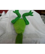 "Butt head Golf Club Cover  Plush FROG butt with sock bottom 17"" - $42.00"