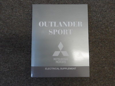 2013 MITSUBISHI Outlander Sport Electrical Supplement Service Repair Manual
