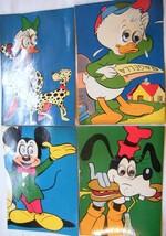 Vintage Walt Disney POST CARDS-4 Assorted - $5.99