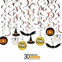 Halloween Decorations for Kids, Ediff Family Hanging Swirls Decor (30 PC... - $14.12