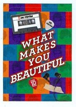 What Makes You Beautiful sticker trading card (One Direction 1D) 2013 Pa... - $4.00