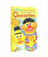 NEW VINTAGE 2010 Sesame Street Bert Ernie 1st Book of Opposites Hardcove... - $12.86