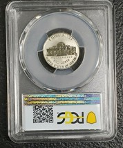 2020W 5C Jefferson Nickel Reverse Proof Coin PCGS PR69 First Day Issue Sku C131 image 2