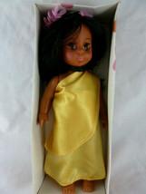 "Vintage Hawaii Doll Anekona Malia Hula Girl 8"" Hong Kong Mint in Box Pretty - $19.79"