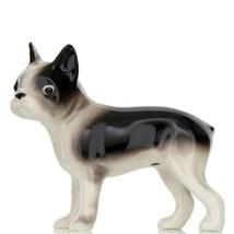 Hagen Renaker Dog Boston Terrier Small Ceramic Figurine image 1