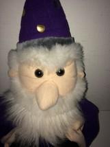 "Folkmanis Wizard Puppet Doll Plush Approx 21"" Tall - $29.99"