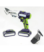 30V Cordless 16 Gauge Metal Sheet Shear Cutter Rechargeable Electric Sci... - $109.99