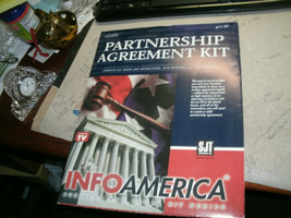 1#    Partnership Agreement Kit, Info America   unopened package    - $5.93