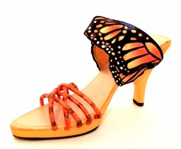 Raine Just The Right Shoe Monarch Butterfly 25364  Miniature Retired 2002 - $46.52