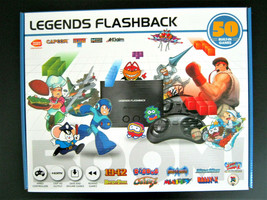 New Legends Flashback Classic Game Console 50 Built In Video Games Digdug Atari - $28.70
