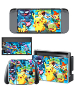 Nintendo Switch Console Joy-Con Skin Pokemon Pi... - $9.00