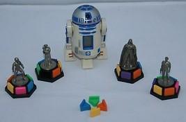 Star Wars Trivial Pursuit Spiel Teile Unvollständiges Zinn Zahlen Darth ... - $15.36