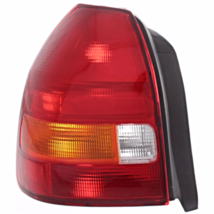 Fits 96-00 Honda Civic Hatchback Left Driver Tail Lamp Assembly Amber/Red - $52.95