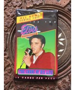 Elvis Presley Collectors Cards Red Jacket With Mic 12 Cards Per Pack Nev... - $5.52