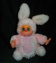"9"" Vintage Mary Meyer Rosa Pulgar Chupando Conejito Peluche Plush Toy - $27.46"