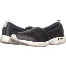 Easy Spirit Twist2 Slip On Sneakers 638, Black, 8 US - $18.23