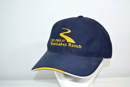 THE Links At River Lakes Ranch Blue Golf Baseball Cap Adjustable Strap - $17.99