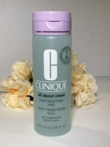 CLINIQUE All About Clean Liquid Facial Soap Mild for DRY/COMBO SKIN 6.7o... - $14.80