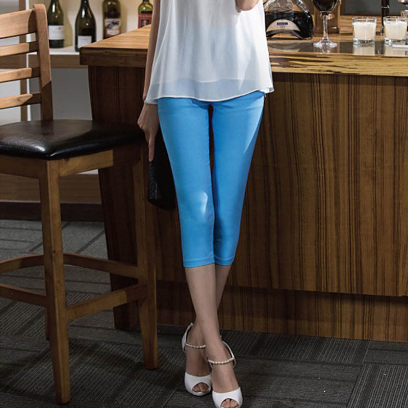 Primary image for Women's Leggings Slim Color Stretch