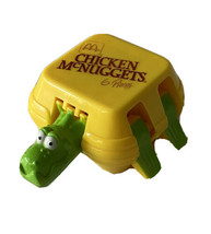 90s McDonalds Happy Meal Toy Transformer Chicken McNuggets Nuggets Dinosaur - $9.89