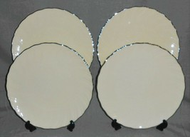 Set (4) Lenox WEATHERLY PATTERN Dinner Plates MADE IN USA - $118.79