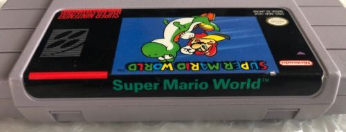 ☆ Super Mario World (Super Nintendo 1991) SNES AUTHENTIC Game Cart Tested Works☆