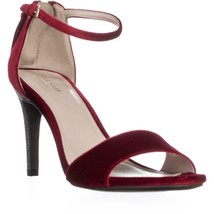Cole Haan Clara Grand Ankle-Strap Dress Sandals, Red, 8.5 US - $61.43