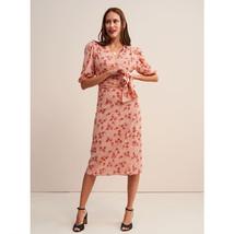 Rouje pink robe rosalie wrap dress 1 thumb200
