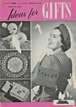 "The Spool Cotton Company ""Ideas For Gifts"" Vintage 1949 - Gently Used - $6.00"