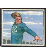 1950 Bowman Football # 37 Bobby Layne - Detroit Lions - VG (creases) - $27.71