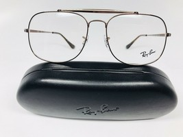 New Authentic Ray Ban RB 6389 2531 Brown Eyeglasses 55/16/140 with Case - $84.62