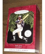 Hallmark 1997 Hank Aaron Keepsake Ornament 2nd in At the Ballpark Series... - $14.85