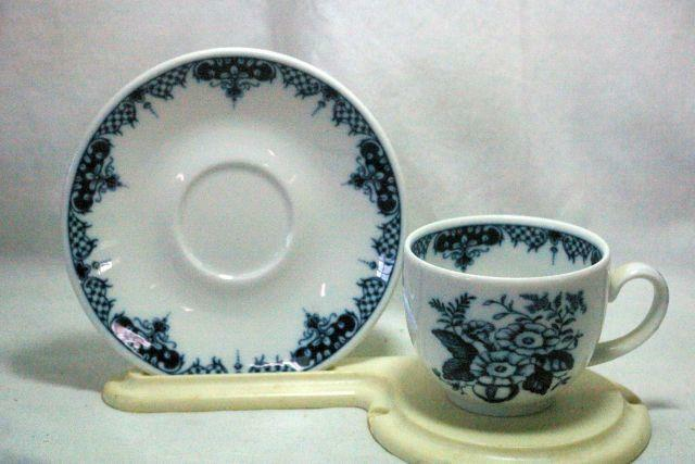 Royal Worcester 1997 Hanbury Cup And Saucer Set