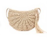 R women 2018 summer fashion ladies mini shoulder bag bali beach round straw rattan thumb155 crop