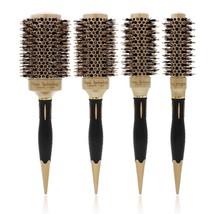 Round Hair Brush Ceramic Boar Bristle Aluminum Barrel Comb For Hair Curling - $13.55+
