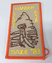 VTG BSA Boy Scouts St. Louis Area Gravois Trail 1983 Timber Daze Patch - $7.31