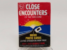 1978 Topps Close Encounters of the Third Kind Trading Cards Sealed Wax Pack - $5.93