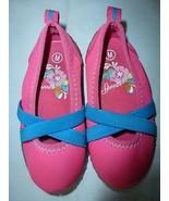 SHOES Toddler SPEEDO Pink Aqua Criss Cross Straps Water Shoe Hardly Worn... - $9.74