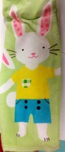 "1 Printed Kitchen Towel (15"" X 25"") 3 Large Bunnies, Easter By Am - $7.91"