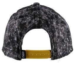Neff Headwear Black Leopard Neff Rock Logo Snapback Baseball Hat Cap F13018 NWT image 4