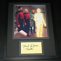 Mark La Mura Signed Framed 11x14 Photo Display Star Trek - $42.18