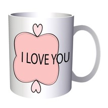 New Romantic Pink Color 11oz Mug l198 - $10.83