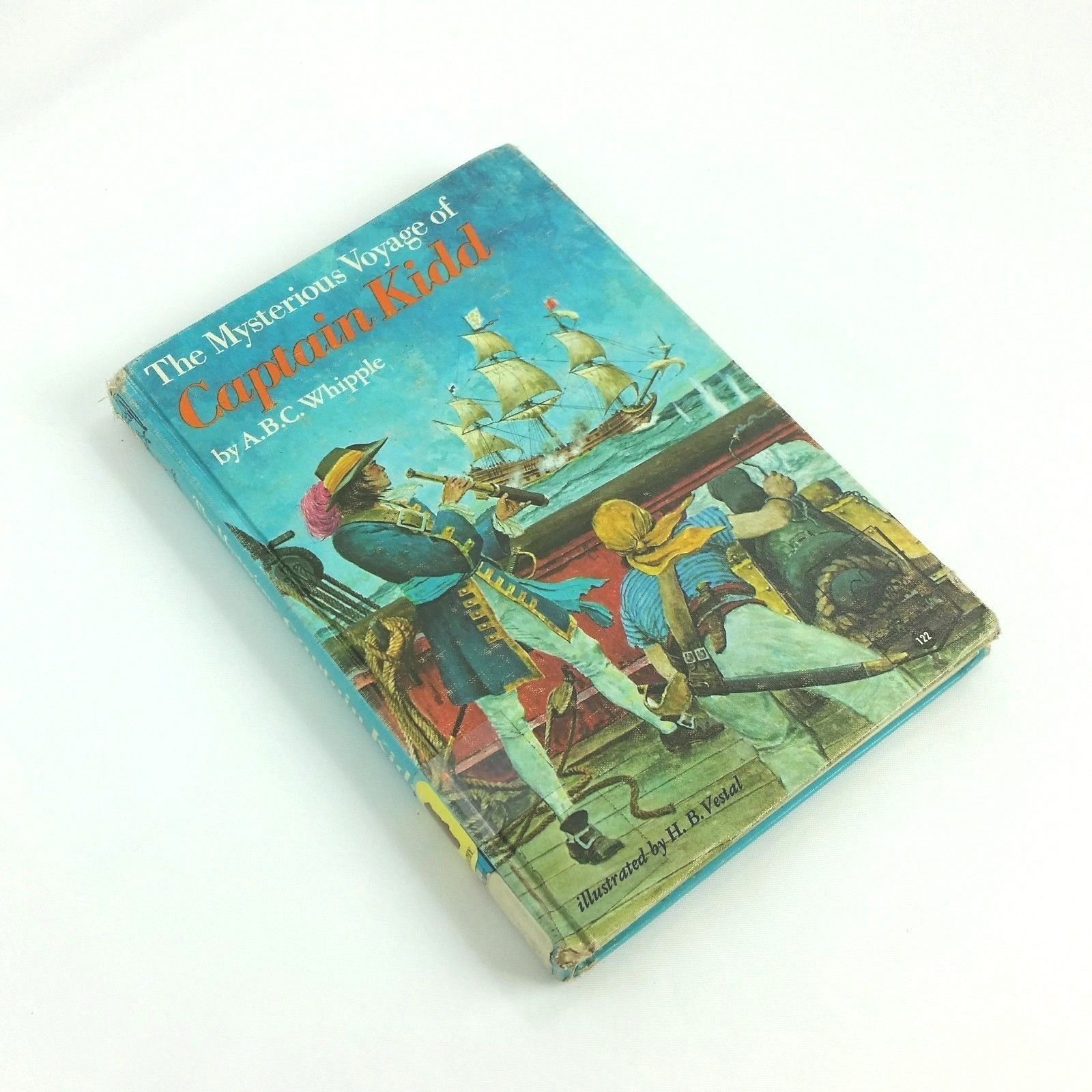 The Mysterious Voyage of Captain Kid 1970 Childrens Vintage Book ABC Whipple HC
