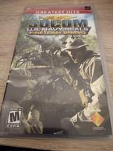 Sony PSP SOCOM US Navy Seals: Fire Team Bravo image 1