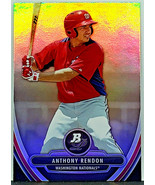 RED HOT! ANTHONY RENDON ROOKIE REFRACTOR 2013 BOWMAN PLATINUM #BPP25 NAT... - $119.95